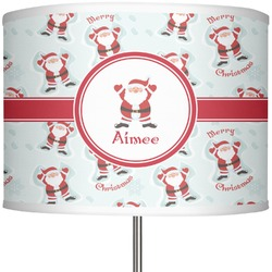 "Santa Claus 13"" Drum Lamp Shade (Personalized)"