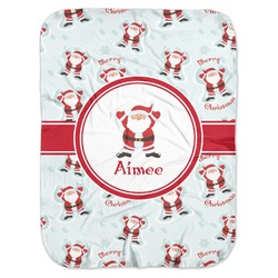 Santa Claus Baby Swaddling Blanket (Personalized)