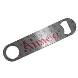 Santa Claus Bar Bottle Opener (Personalized)