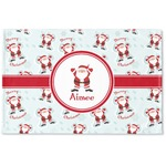 Santa Claus Woven Mat (Personalized)