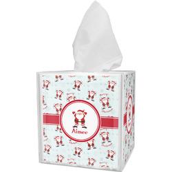Santa Claus Tissue Box Cover (Personalized)