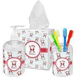 Santa Claus Bathroom Accessories Set (Personalized)