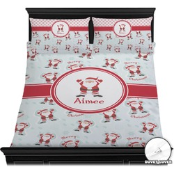 Santa Claus Duvet Cover Set (Personalized)