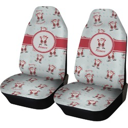 Santa Claus Car Seat Covers (Set of Two) (Personalized)