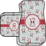 Santa Claus Car Floor Mats (Personalized)