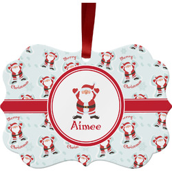 Santa Claus Ornament (Personalized)