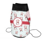 Santa Claus Neoprene Drawstring Backpack (Personalized)