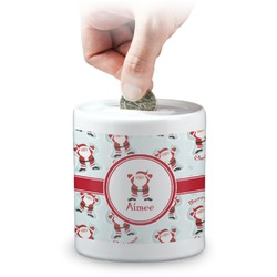 Santa Claus Coin Bank (Personalized)
