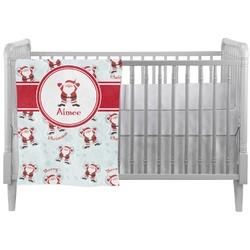 Santa Claus Crib Comforter / Quilt (Personalized)