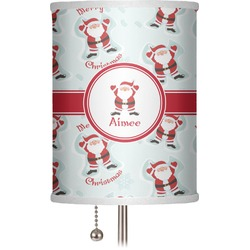 "Santa Claus 7"" Drum Lamp Shade (Personalized)"