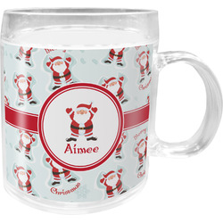 Santa Claus Acrylic Kids Mug (Personalized)