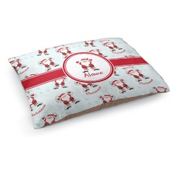 Santa Claus Dog Pillow Bed (Personalized)