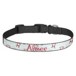 Santa Claus Dog Collar - Multiple Sizes (Personalized)