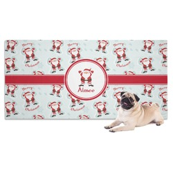 Santa Claus Dog Towel (Personalized)