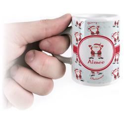 Santa Claus Espresso Mug - 3 oz (Personalized)