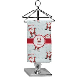Santa Claus Finger Tip Towel - Full Print (Personalized)