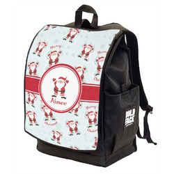 Santa Claus Backpack w/ Front Flap  (Personalized)