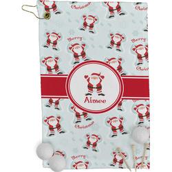Santa Claus Golf Towel - Full Print (Personalized)