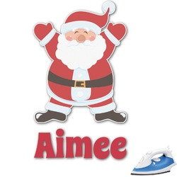 Santa Claus Graphic Iron On Transfer (Personalized)