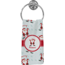 Santa Claus Hand Towel - Full Print (Personalized)