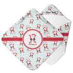 Santa Claus Hooded Baby Towel (Personalized)