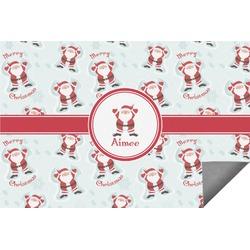 Santa Claus Indoor / Outdoor Rug (Personalized)