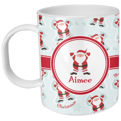 Santa Claus Plastic Kids Mug (Personalized)