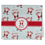 Santa Claus Kitchen Towel - Full Print (Personalized)