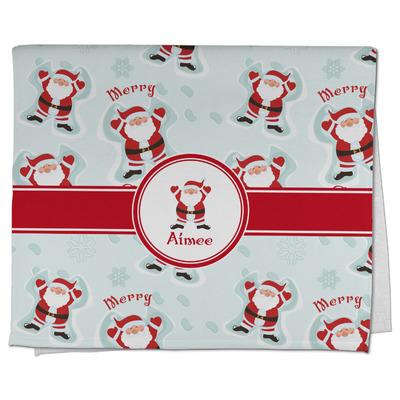 Santa Claus Kitchen Towel - Full Print (Personalized)