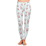 Santa Claus Ladies Leggings (Personalized)