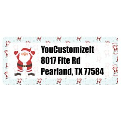 Santa Claus Return Address Labels (Personalized)