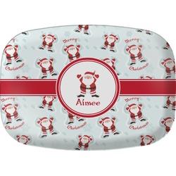 Santa Claus Melamine Platter (Personalized)