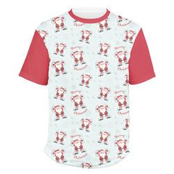 Santa Claus Men's Crew T-Shirt (Personalized)
