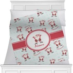 Santa Claus Minky Blanket (Personalized)
