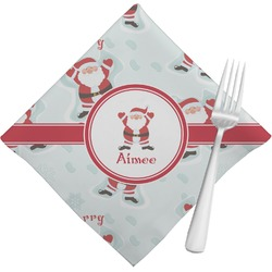 Santa Claus Cloth Napkins (Set of 4) (Personalized)