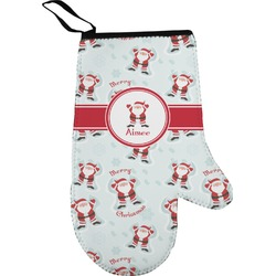 Santa Claus Right Oven Mitt (Personalized)