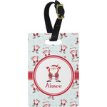 Santa Claus Rectangular Luggage Tag (Personalized)