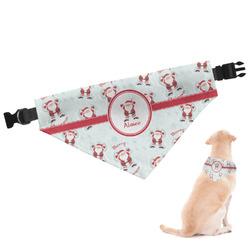 Santa Claus Dog Bandana (Personalized)