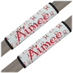 Santa Claus Seat Belt Covers (Set of 2) (Personalized)