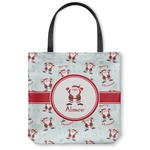 Santa Claus Canvas Tote Bag (Personalized)