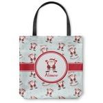 Santa Claus Canvas Tote Bag (Personalized)