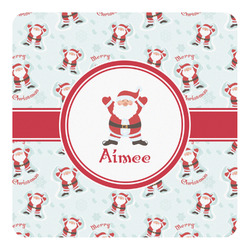 Santa Claus Square Decal (Personalized)