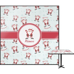 Santa Claus Square Table Top (Personalized)
