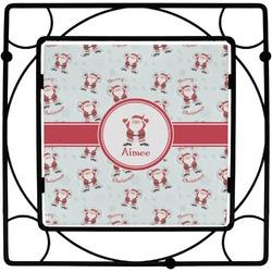 Santa Claus Square Trivet (Personalized)