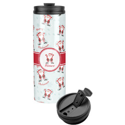 Santa Claus Stainless Steel Tumbler (Personalized)