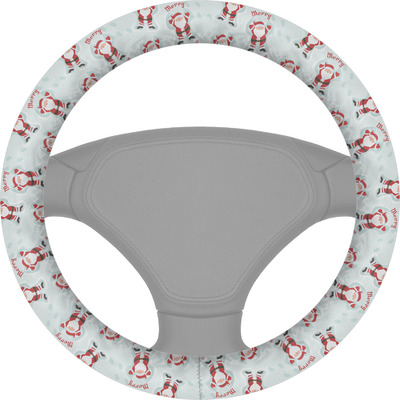 Santa Claus Steering Wheel Cover (Personalized)
