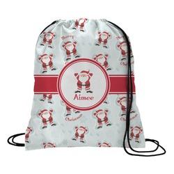 Santa Claus Drawstring Backpack (Personalized)