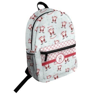Santa Claus Student Backpack (Personalized)