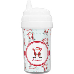 Santa Claus Toddler Sippy Cup (Personalized)