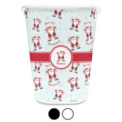 Santa Claus Waste Basket (Personalized)